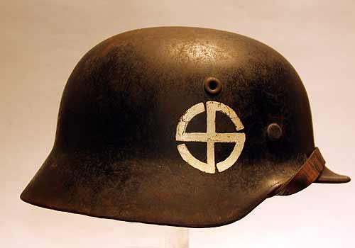 Schalburg Corps Ss Helmet